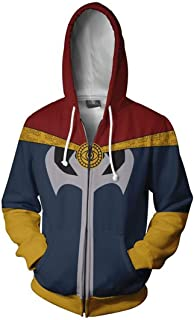 Super Hero Fashion Cosplay Hoodie Jacket
