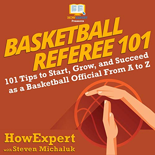 Basketball Referee 101 audiobook cover art