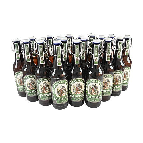 Kapuziner Weißbier (20 Flaschen à 0,5 l / 5,4% vol.)