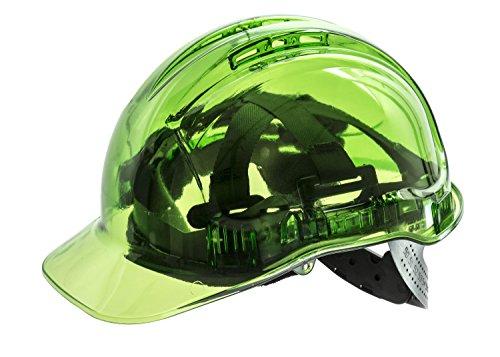 PORTWEST Peak View Plus Schutzhelm, 1 Stück, sdt, grün, PV50GNR