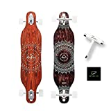Arbor Collective Axis 37 Solstice Skateboard Bundled with Swell Skate Tool + Crate White Shark Sticker (Axis 37 Solstice )