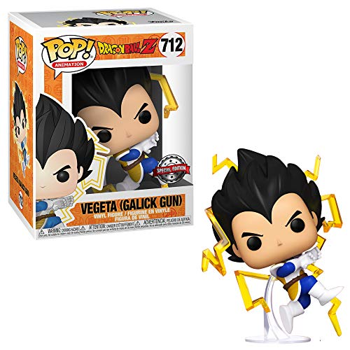 Funko Pop! Dragonball Z Vegeta Galick Gun #712 Exclusivo