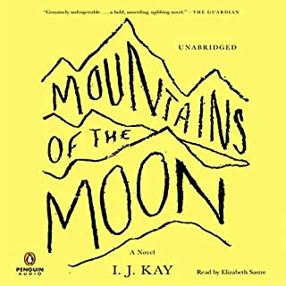 Mountains of the Moon audiobook cover art
