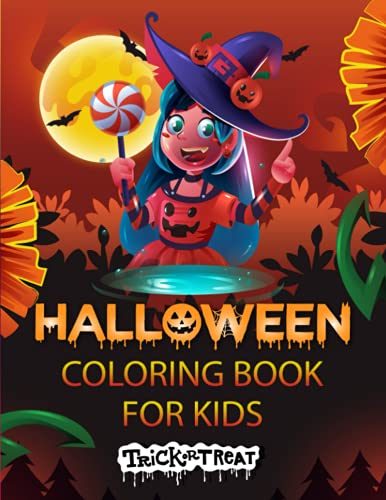 Trick or Treat: Halloween Coloring Book