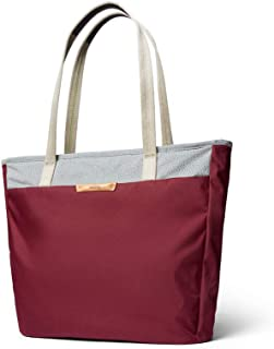 """Bellroy Tokyo Tote, Water-Resistant Woven Tote Bag (13"""" Laptop, Tablet, Notes, Cables, Drink Bottle, Spare Clothes, Everyday Essentials) - Neon Cabernet"""