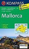 KOMPASS Wanderkarte Mallorca: Wander-, Rad-, Freizeit- und Straßenkarte mit Aktiv Guide und Stadtplan Palma de Mallorca 1:8500. GPS genau. 1:75000: ... 1:75 000 (KOMPASS-Wanderkarten, Band 230)