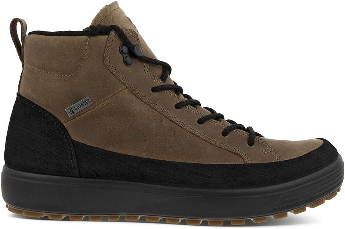 ECCO Men's Super intense SALE Soft 7 Tred Boot Waterproof Sneaker Gore-TEX Max 83% OFF Winter