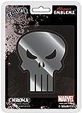Chroma 41501 Punisher Skull Injection Molded Chrome Colored Emblem Decal