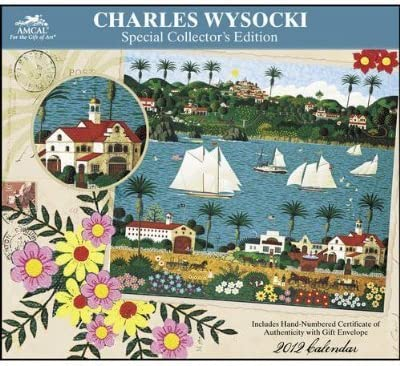 Charles Wysocki Max 72% OFF Special Collector's Calendar Edition 2012 Sales of SALE items from new works Wall