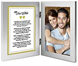 Best Romantic Gift for Wife, Husband, Girlfriend or Boyfriend - Soulmate Love Poem Plus Your Cute Photo in Double Frame