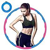 Hula Hoop de Fitness para pérdida de Peso, Plegable y Ajustable, para Entrenamiento,...