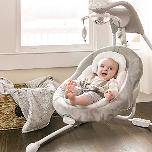 Ingenuity DreamComfort InLighten Cradling Swing - Braden