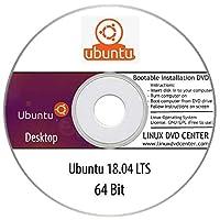 "Ubuntu Desktop 18.04 LTS ""Bionic Beaver"" (64Bit) - Bootable Linux Installation DVD"