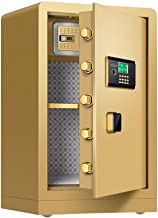 High Home Office Electronic Password Safety Safe Cabinet Safe Insurance Approved, Motorised Locking Bolts, LCD Screen Larg...
