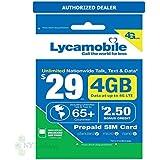 Lycamobile USA Prepaid Sim Cards Include 30 Days