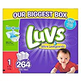 Luvs Diapers sz 1, 264 ct (Old Version)