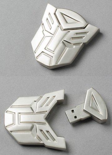 Transformer Autobot Metal USB Flash Memory Drive 32GB