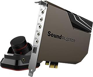 Creative Sound Blaster AE-7 Hi-Res Internal PCIe Sound Card, Quad-Core Processor, 127dB DNR ESS SABRE-class 9018 DAC, Xamp Discrete Custom Bi-amp, Discrete 5.1/Virtual 7.1, Dolby, DTS Encoding (Black)