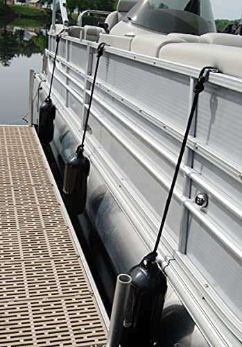 """Taylor Made Products 31032 Pontoon Boat Fence Fender Saver (9"""" x 36"""")"""