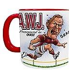 <span class='highlight'><span class='highlight'>Alun</span></span> Wyn Jones Mug - Wales Rugby Player - Welsh Mugs
