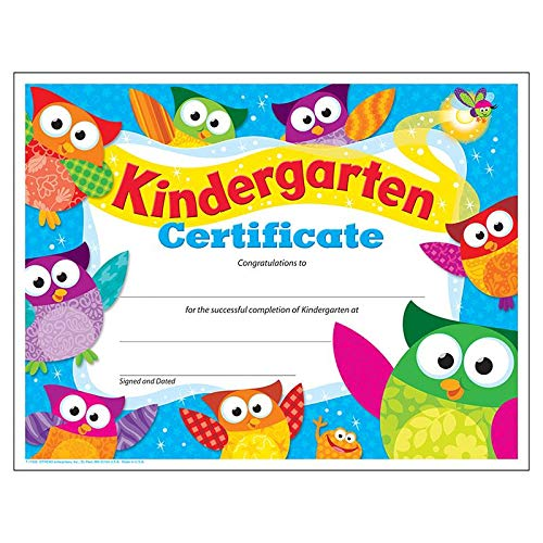 Kindergarten Awards Certificates