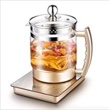 Electric Water Kettle Glass Kettle,Multi-Function Tea Maker,Health Pot Glass Thickening Split Health,Pot Fully Automatic G...