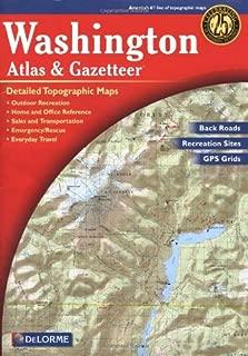 Washington Atlas & Gazetteer (Delorme Atlas & Gazetteer)