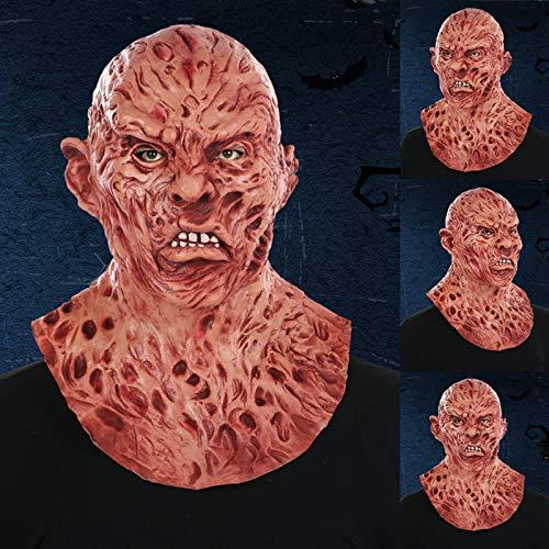Suppyfly Máscara de Zombie de Terror Ultra Realista,