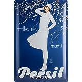 Nostalgic-Art 24011 Persil - Weiße Dame Blau, Blechschild