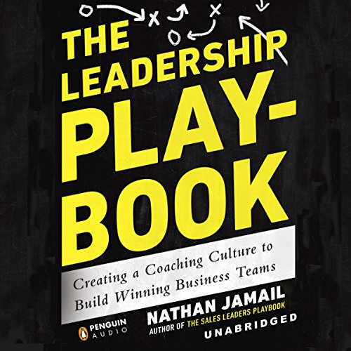 The Leadership Playbook audiobook cover art