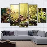 Leinwand Wandbilder Wohnkultur Drucke Poster 5 Panels