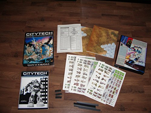 Citytech: The Battletech Game of Urban Combat [BOX SET]
