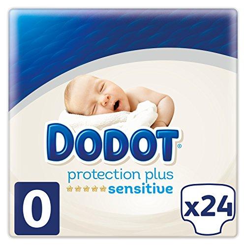 Dodot Sensitive Pannolini per neonati, taglia 0 (1.5 - 2.5 kg), 1 confezione da 24 pannolini