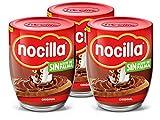 Nocilla, Original, Crema di Cacao con Nocciole, Senza Olio di Palma, Pack da 3 x 380 gr
