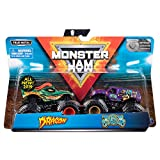 Monster Jam - 6044943 - Pack of 2 Vehicles - Vehicle 1:64 Scale - Child Game - Random Models and Colors