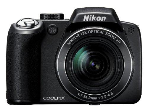 Nikon Coolpix P80 Digitalkamera (10 Megapixel, 18-Fach Opt. Zoom, 6,9 cm (2,7 Zoll) Display, Bildstabilisator)