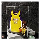 BBJOZ Micro-partículas de NBA Lakers Kobe Building Blocks-Jugador de Baloncesto de la Estrella Modelo, Souvenirs/Coleccionables/Artesanía, NBA Kobe Bryant Acción humanoide Regalo Box Set