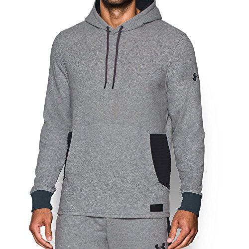 Under Armour UA Pursuit - Forro polar (talla XXL), color gris