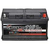 Autobatterie 12V 110Ah 850A BlackMax PKW Batterie ersetzt 88Ah 100Ah 105Ah