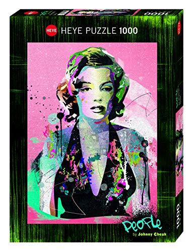 Heye 29710 - Rompecabezas estándar, Marilyn 1.000 Piezas, Johnny Cheuk, Multicolor