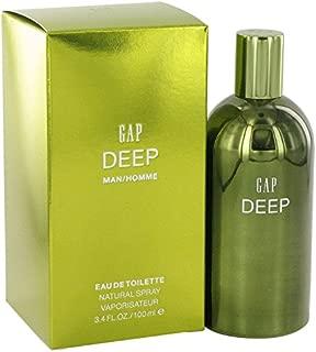 Gap Deep Cologne By Gap Eau De Toilette Spray For Men 3.4 oz Eau De Toilette Spray