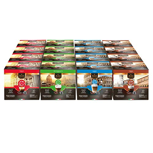 SanSiro Coffee Probierset Caffitaly - 160 Kapseln - Tchibo* und Cafissimo* Kapselmaschinen