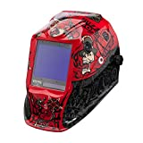 Lincoln Electric K3101-4 VIKING 3350 Auto Darkening Welding Helmet with 4C Lens Technology, Mojo