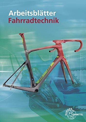 Arbeitsblätter Fahrradtechnik