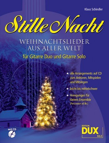Schindler, Klaus: Stille Nacht (Noten/Sheetmusic)