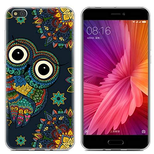 Litao-Case LLM Funda para Xiaomi mi5c mi 5c Funda TPU Suave Silicone Carcasa Case Cover 3