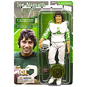 Mego Legends 8 Action Figure Joe Namath