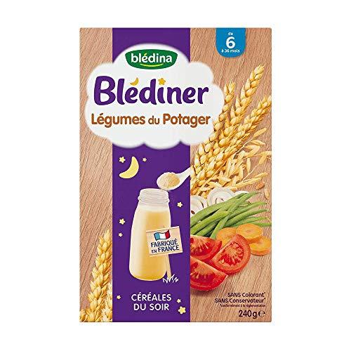 Bledina Blediner céréales du soir légumes potager 240g