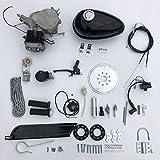 Kit De Motor De Bicicleta De 80 CC, Kit De Bicicleta Motorizada De 2 Tiempos Kit De Motor De Gasolina para Bicicleta Que Ahorra Energía con Tanque De 2,5 l, para Bicicleta De Empuje Motorizada