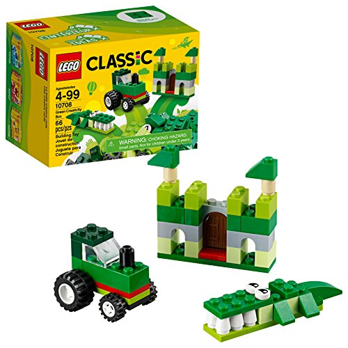 LEGO Classic Green Creativity Box 10708 Building Kit